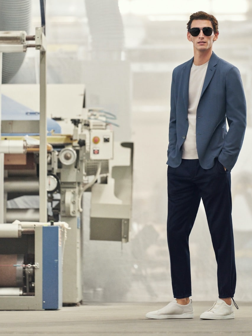 Made to measure clothing made of lightweight fabrics | Zegna